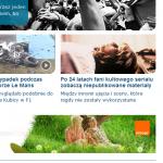 Onet.pl - boi się blokowania reklam i dodatku adblock