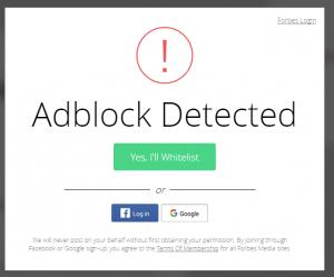 Polskie filtry Anti-Adblock